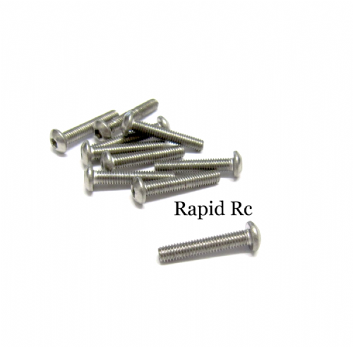 M3x20mm Stainless Steel Socket Button head Bolt